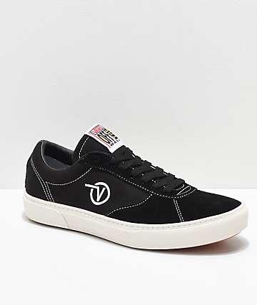 Vans Paradoxxx Black & White Shoes