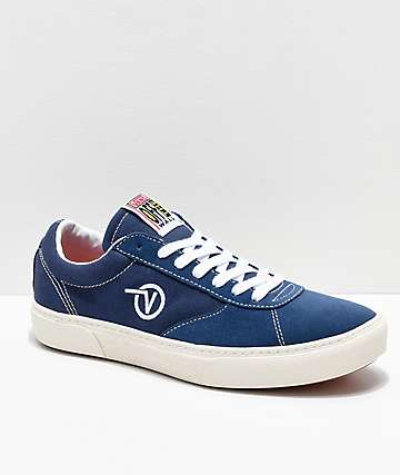 Vans Paradoxxx Dark Denim Blue Shoes