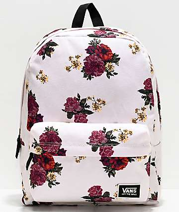 Vans Realm Classic Botanical Floral Backpack