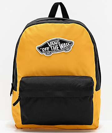 Vans Realm Mango Mojito & Black Backpack