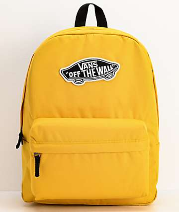 Vans Realm Yolk mochila amarilla