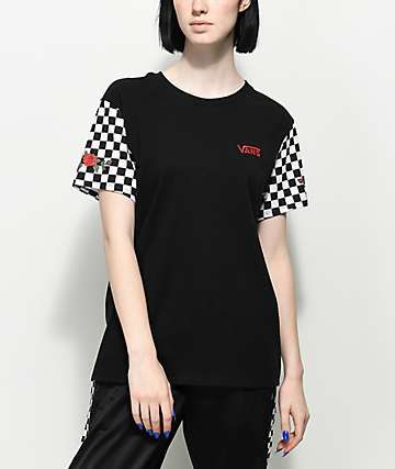 Vans Rose & Checker T-Shirt