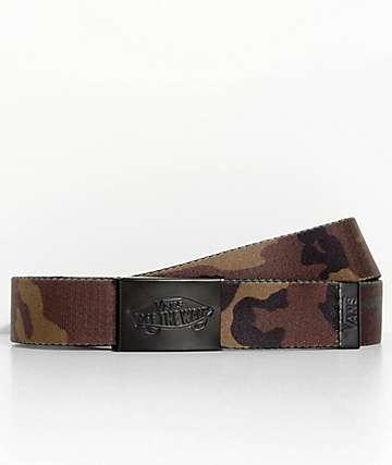 Vans Shredator II cinturón tejido de camuflaje