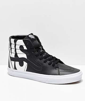 Vans Sk8-Hi Classic Tumble Black Shoes