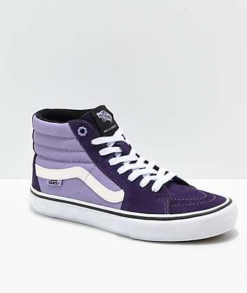 Vans Sk8-Hi Lizzie Armanto Pro Purple Skate Shoes