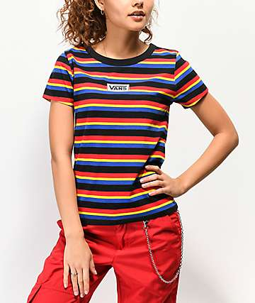 Vans Skimmer Multi-Stripe T-Shirt