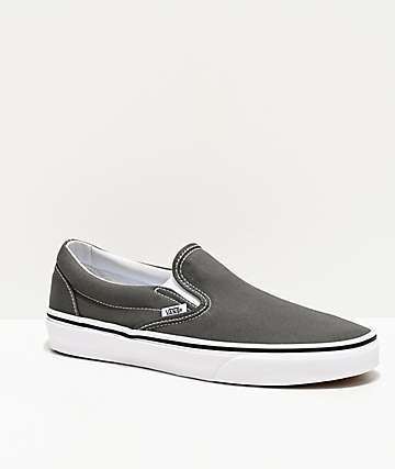 Vans Slip-On Charcoal Skate Shoes