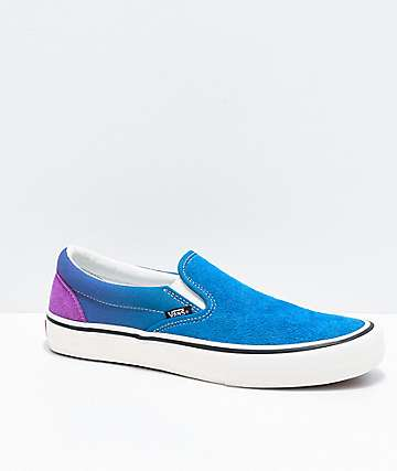 Vans Slip-On Pro Fade Turkish Tile & Dewberry Skate Shoes