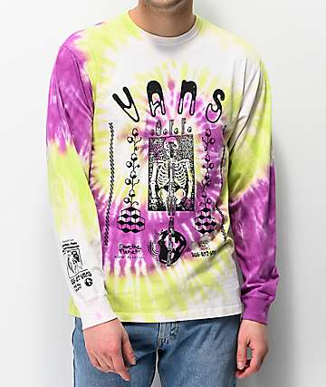 Vans Slow Fashion Tie Dye Long Sleeve T-Shirt