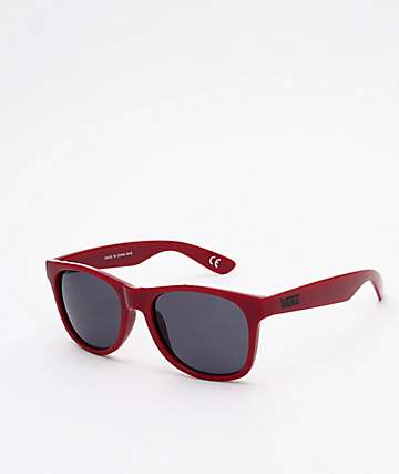 Vans Spicoli 4 Biking Red & Black Sunglasses
