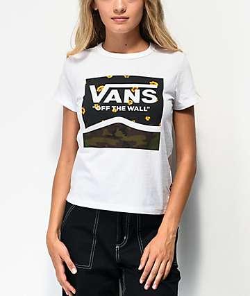 Vans Squadron White Baby T-Shirt