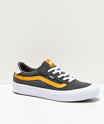 Vans Style 112 Pro Pewter & Mango Mojito Skate Shoes