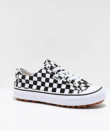 Vans Style 29 Black & White Checkerboard Skate Shoes