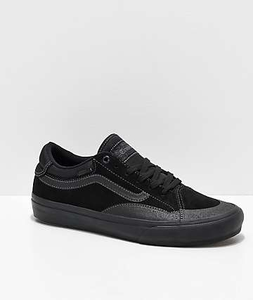 Vans TNT ADV Prototype Blackout Skate Shoes