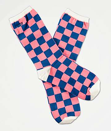 Vans Ticker Blue Sapphire Crew Socks