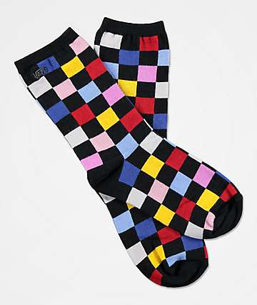 Vans Ticker Multicheck calcetines