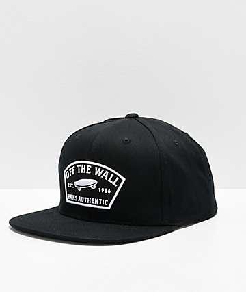 Vans Trask Black Snapback Hat