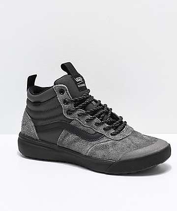 Vans UltraRange Hi Peat Black Shoes