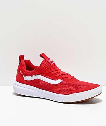 Vans UltraRange Rapidweld Red & White Shoes