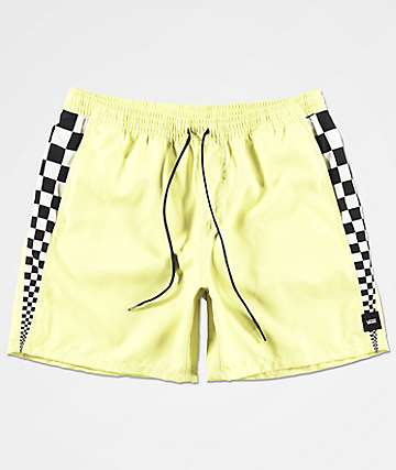 Vans V Panel Volley Lime Board Shorts