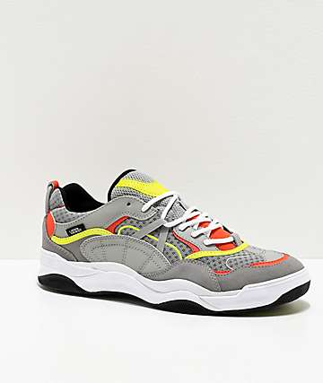 Vans Varix WC Drizzle Grey & Multicolor Skate Shoes