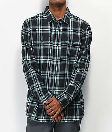 Vans Westminster Black Flannel Shirt