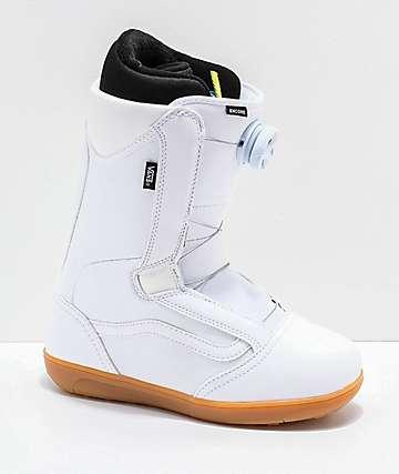 Vans Womens Encore White & Gum Snowboard Boots 2019