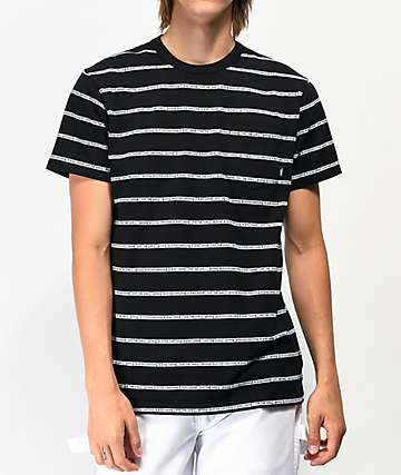 Vans x Baker Jacquard Knit Black Pocket T-Shirt