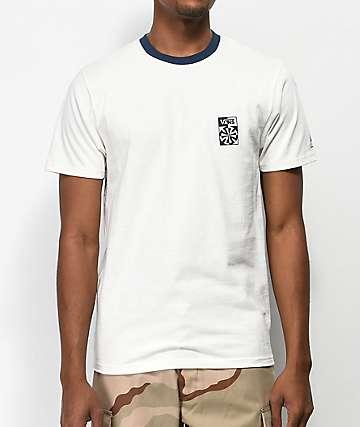 Vans x Independent Checkered camiseta blanca