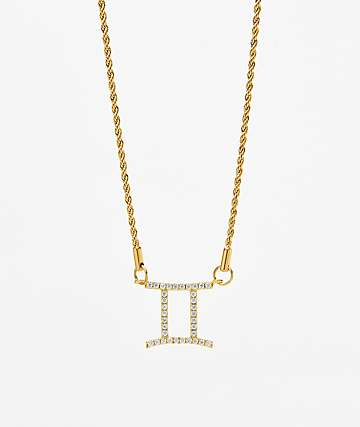 Vesso Gemini Gold Women's Necklace