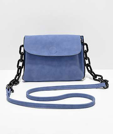 Violet Ray Cobalt Crossbody Purse
