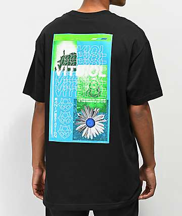 Vitriol Energy Black T-Shirt