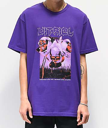 Vitriol Extinction Purple T-Shirt