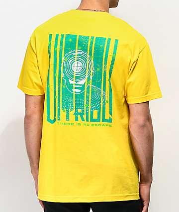 Vitriol No Escape Yellow T-Shirt