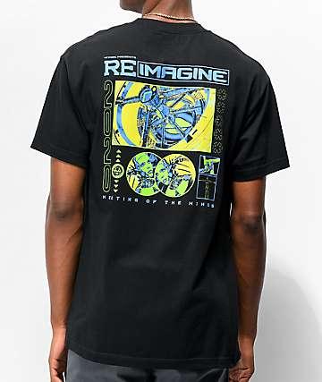 Vitriol Reimagine Black T-Shirt