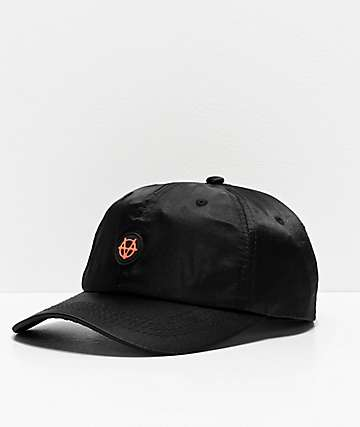 Vitriol Smoov Black Satin Strapback Hat