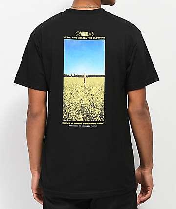 Vitriol x Robert LeBlanc H.A.N.D. Black T-Shirt