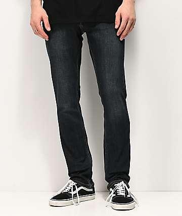 Volcom 2x4 Vintage jeans ajustados de mezclilla azul