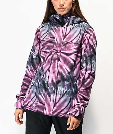 Volcom Bolt Purple Tie Dye 10K Snowboard Jacket