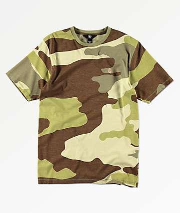 Volcom Boys Peace Squad Camo T-Shirt