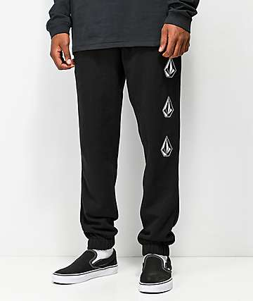 Volcom Deadly Stone pantalones deportivos negros