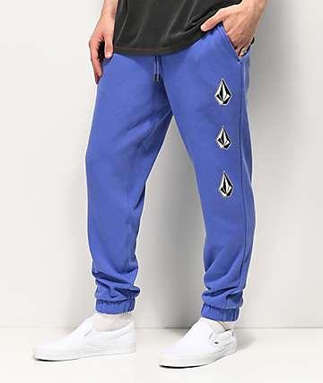 Volcom Deadly Stones pantalones deportivos morados