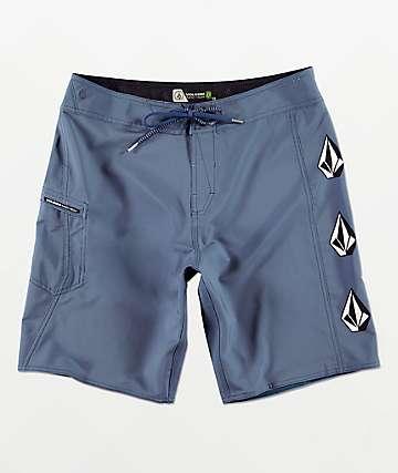 Volcom Deadly Stones shorts de baño azules