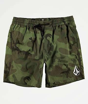 Volcom Deadly Stones shorts de camuflaje