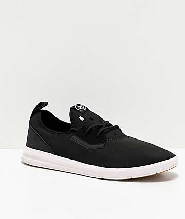 Volcom Draft zapatos negros y blancos