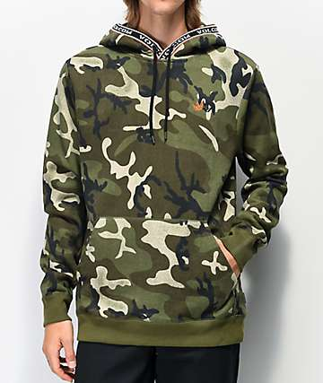 Volcom Forward To Past Camo Hoodie