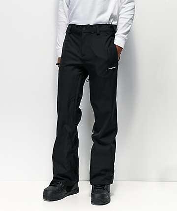 Volcom Freakin Snow Chino 15K pantalones de snowboard negros