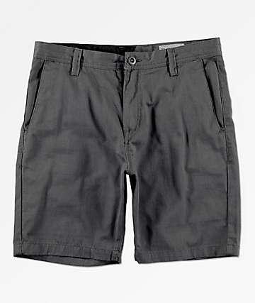 Volcom Frickin Drifter Grey Chino Shorts