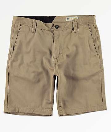 Volcom Frickin Drifter shorts caqui