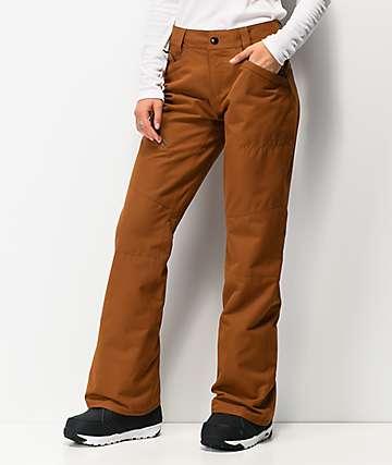 Volcom Hallen pantalones de snowboard de cobre
